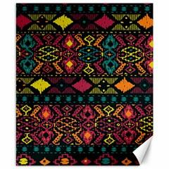 Bohemian Patterns Tribal Canvas 8  X 10