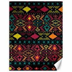 Bohemian Patterns Tribal Canvas 12  x 16