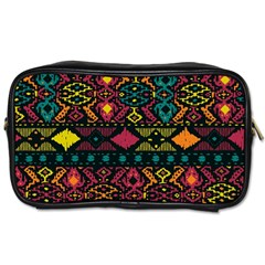 Bohemian Patterns Tribal Toiletries Bags
