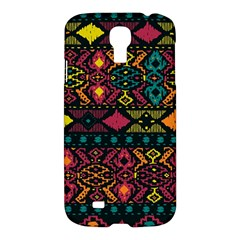 Bohemian Patterns Tribal Samsung Galaxy S4 I9500/I9505 Hardshell Case