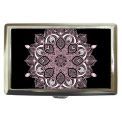 Ornate mandala Cigarette Money Cases