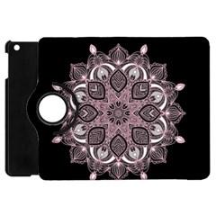Ornate mandala Apple iPad Mini Flip 360 Case