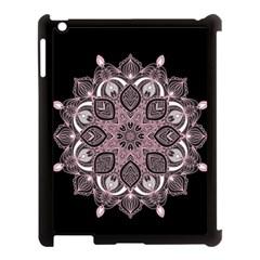 Ornate mandala Apple iPad 3/4 Case (Black)
