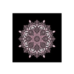 Ornate Mandala Satin Bandana Scarf