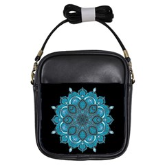 Ornate mandala Girls Sling Bags