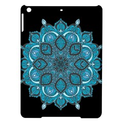 Ornate mandala iPad Air Hardshell Cases