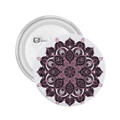 Ornate mandala 2.25  Buttons