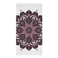 Ornate mandala Shower Curtain 36  x 72  (Stall)