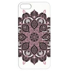 Ornate mandala Apple iPhone 5 Hardshell Case with Stand