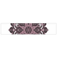 Ornate mandala Flano Scarf (Small)