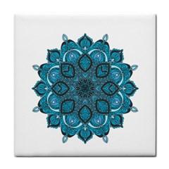 Ornate mandala Tile Coasters