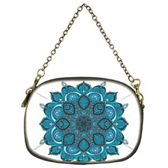 Ornate mandala Chain Purses (One Side)