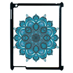 Ornate mandala Apple iPad 2 Case (Black)