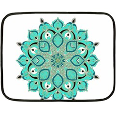 Ornate Mandala Double Sided Fleece Blanket (mini)