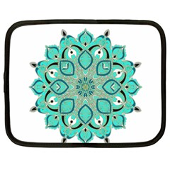 Ornate mandala Netbook Case (XXL)