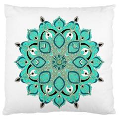Ornate mandala Large Cushion Case (One Side)