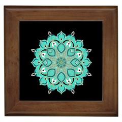 Ornate mandala Framed Tiles