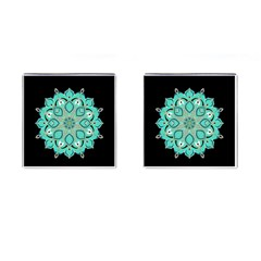 Ornate mandala Cufflinks (Square)