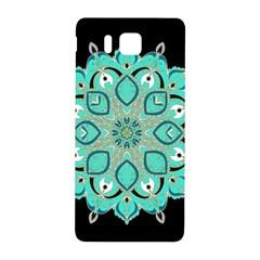 Ornate mandala Samsung Galaxy Alpha Hardshell Back Case