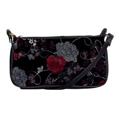 Sakura Rose Shoulder Clutch Bags