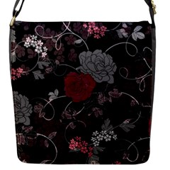 Sakura Rose Flap Messenger Bag (S)