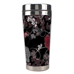Sakura Rose Stainless Steel Travel Tumblers