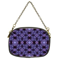 Lavender Moroccan Tilework  Chain Purses (One Side)