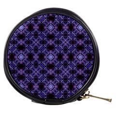 Lavender Moroccan Tilework  Mini Makeup Bags