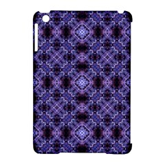 Lavender Moroccan Tilework  Apple Ipad Mini Hardshell Case (compatible With Smart Cover)