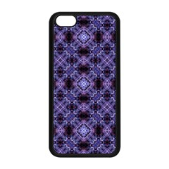 Lavender Moroccan Tilework  Apple Iphone 5c Seamless Case (black)