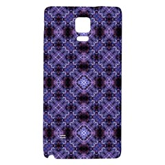 Lavender Moroccan Tilework  Galaxy Note 4 Back Case