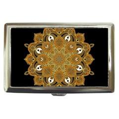 Ornate mandala Cigarette Money Cases