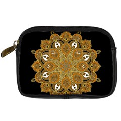 Ornate mandala Digital Camera Cases