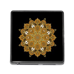 Ornate Mandala Memory Card Reader (square)