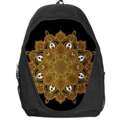Ornate mandala Backpack Bag