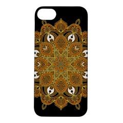 Ornate mandala Apple iPhone 5S/ SE Hardshell Case