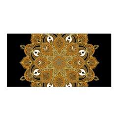 Ornate mandala Satin Wrap