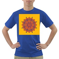 Ornate mandala Dark T-Shirt