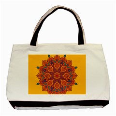 Ornate mandala Basic Tote Bag