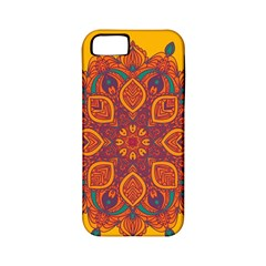Ornate mandala Apple iPhone 5 Classic Hardshell Case (PC+Silicone)