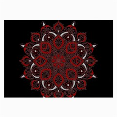 Ornate mandala Large Glasses Cloth (2-Side)