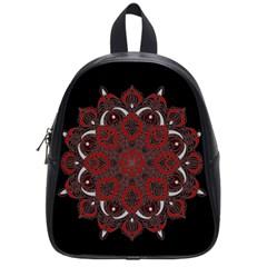 Ornate mandala School Bags (Small)