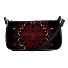 Ornate mandala Shoulder Clutch Bags