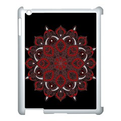 Ornate mandala Apple iPad 3/4 Case (White)