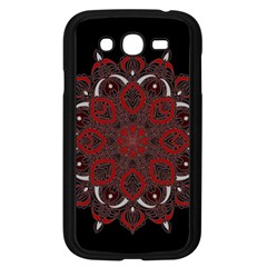 Ornate mandala Samsung Galaxy Grand DUOS I9082 Case (Black)