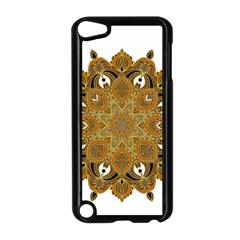 Ornate mandala Apple iPod Touch 5 Case (Black)