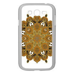 Ornate mandala Samsung Galaxy Grand DUOS I9082 Case (White)