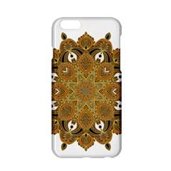 Ornate mandala Apple iPhone 6/6S Hardshell Case