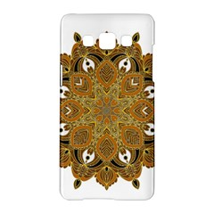 Ornate mandala Samsung Galaxy A5 Hardshell Case
