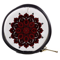 Ornate mandala Mini Makeup Bags